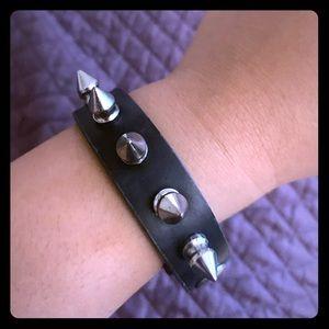 Spike bracelet punk goth